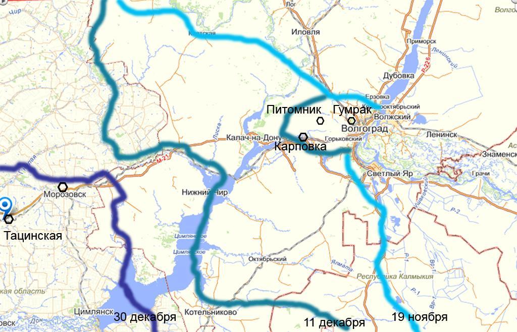 Мы готовим карту В-З 360 км
