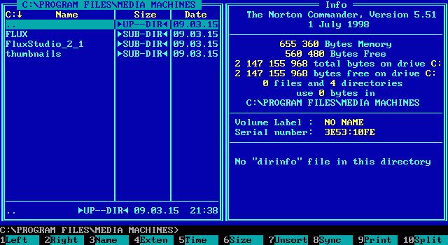 История операционных систем microsoft: ms-dos
