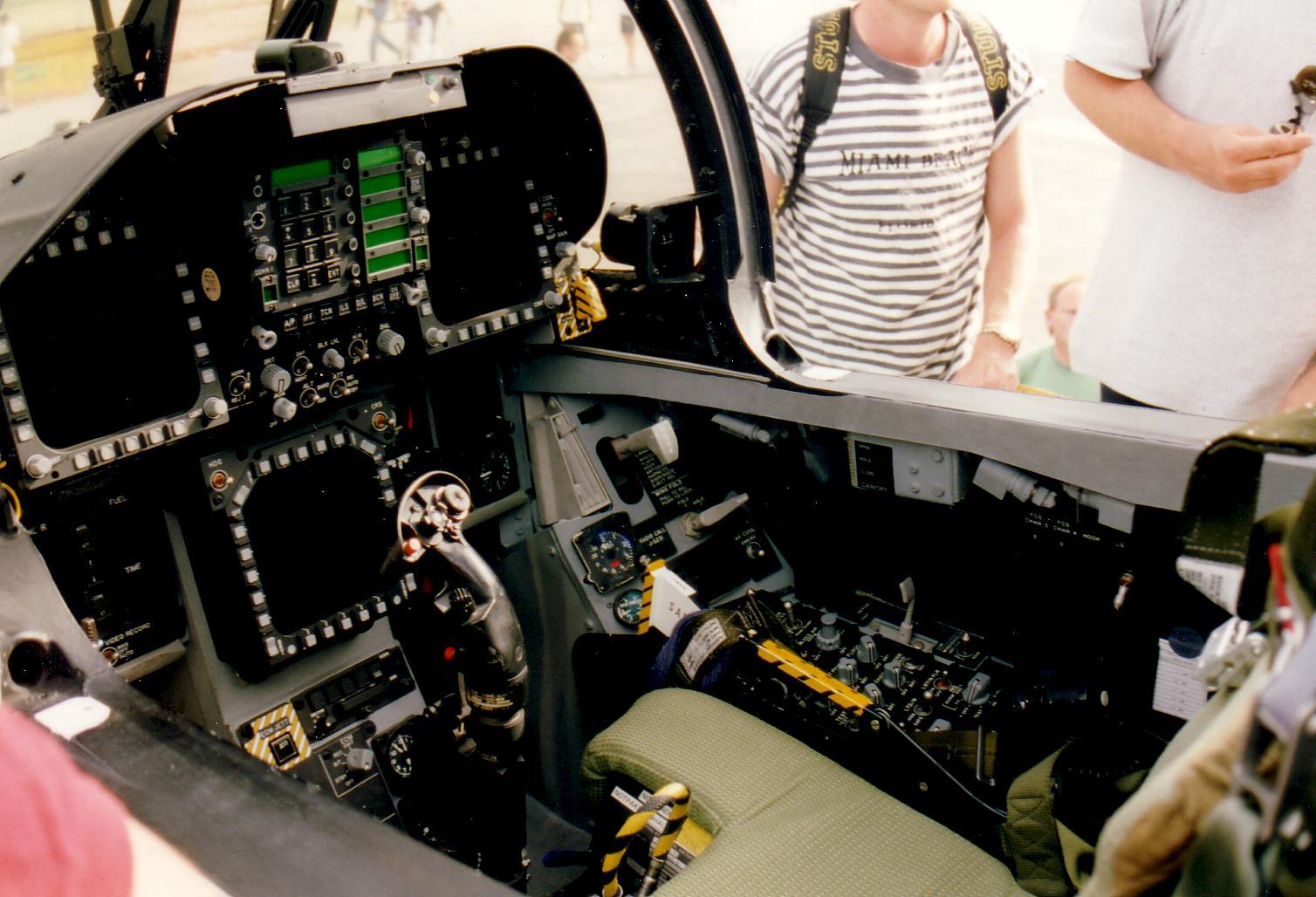 F18 Cockpit View Take Off