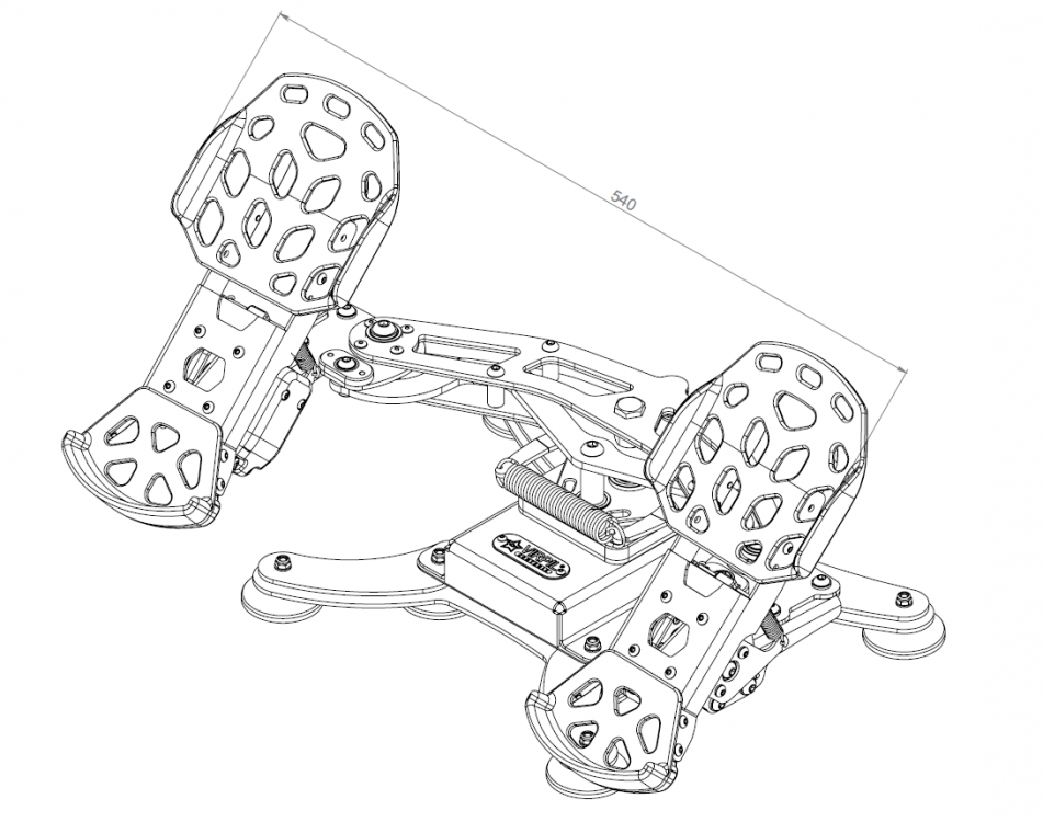 Introducing the Final Part of the VPCockpit - VPC Rudder Pedals! -  Hardware, Software and Controllers - IL-2 Sturmovik Forum