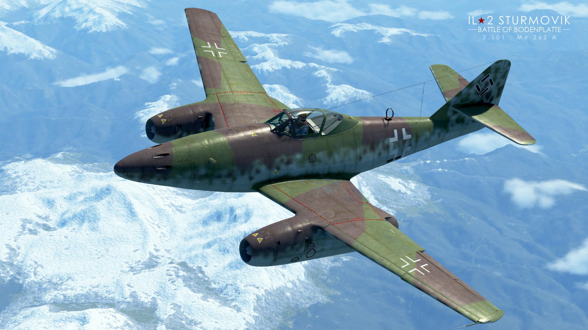 Обои реактивный, me.262, истребитель, бомбардировщик. Авиация foto 19